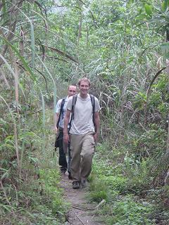 Norman und Hauke wandern im Nationalpark